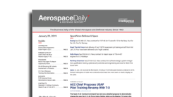 Aerospace Daily & Defense Report